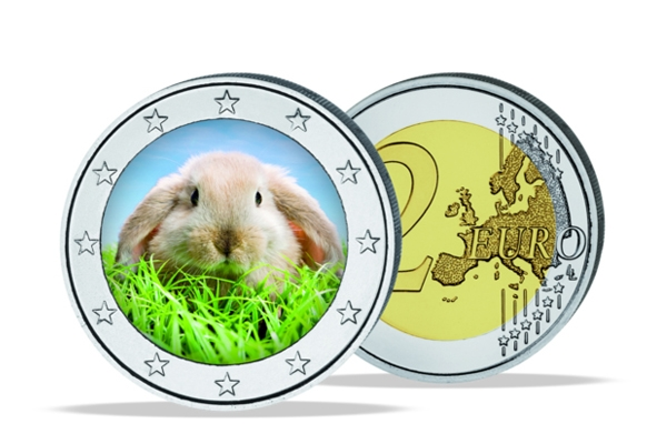 2 Euro Germany 2015 - BU - Easterncoin in color