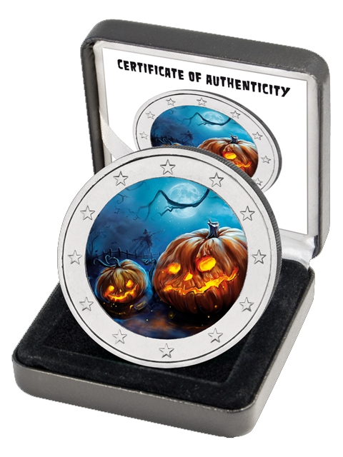 2 Euro Germany - BU - Halloween Coin II in color