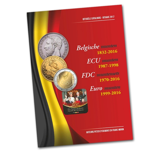Official Coin catalogue Belgium Morin 2017 - In Dutch