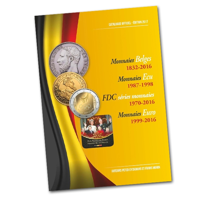 Official Coin catalogue Belgium Morin 2017 - In French
