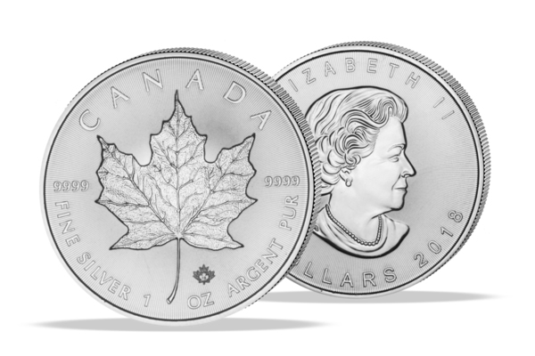 Maple Leaf 2018 - 1 Oz. Silver .999