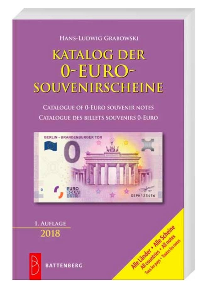 0 Euro Catalogue 2018