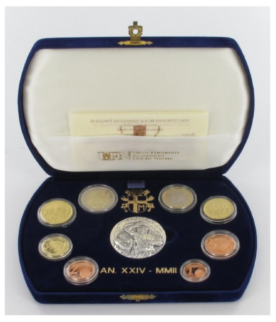 Proof set Vaticaan 2002