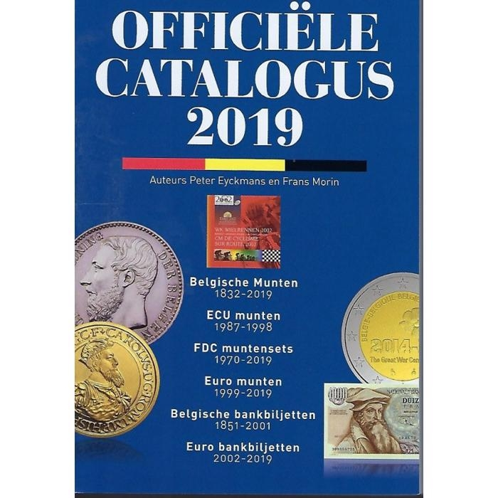 Official Coin catalogue Belgium Morin 2019 - In Dutch