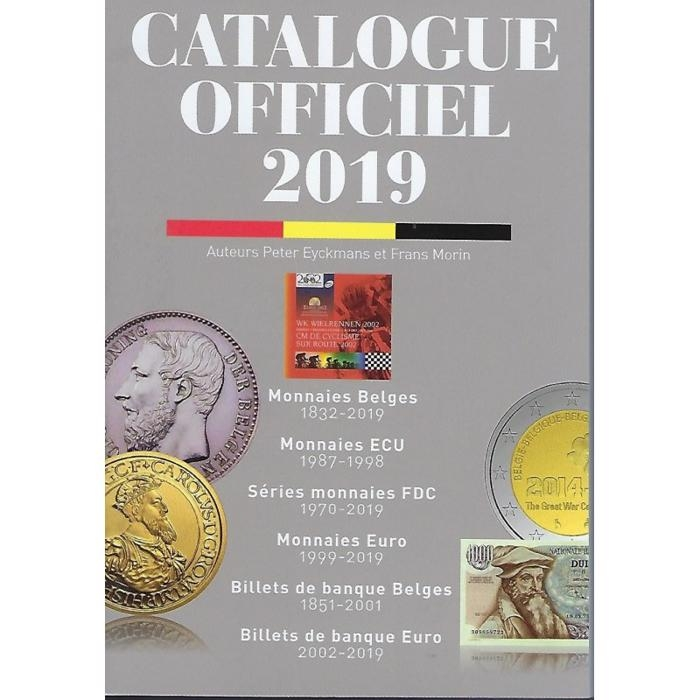 Official Coin catalogue Belgium Morin 2019 - In French