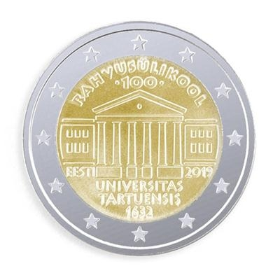 2 Euro Estonia 2019 - UNC - Universiteit